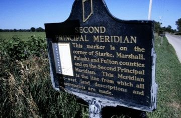 Second Principal Meridian Marker Photo, Click for full size