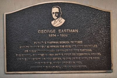 George Eastman Marker image. Click for full size.