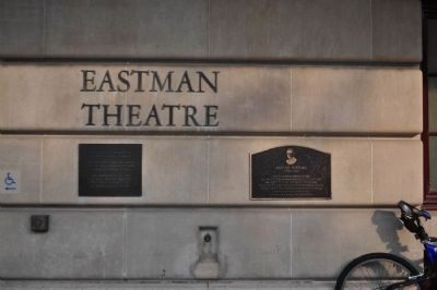 George Eastman Marker and Partner image. Click for full size.
