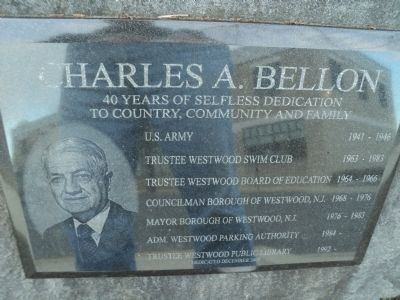 Charles A. Bellon Marker image. Click for full size.