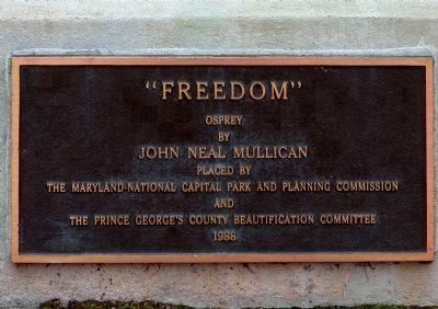 Freedom Plaque image. Click for full size.