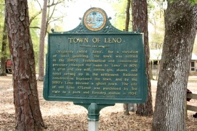 Town of Leno Marker image. Click for full size.