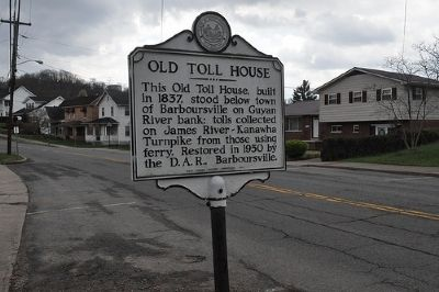 Old Toll House Marker image. Click for full size.