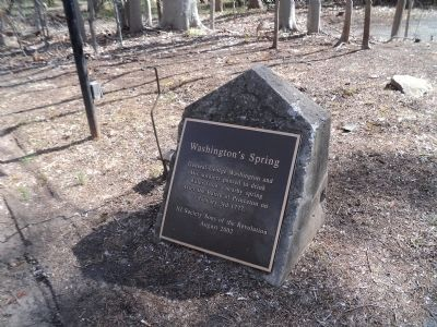 Washington's Spring Marker image. Click for full size.