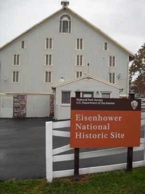 Eisenhower National Historic Site image. Click for full size.
