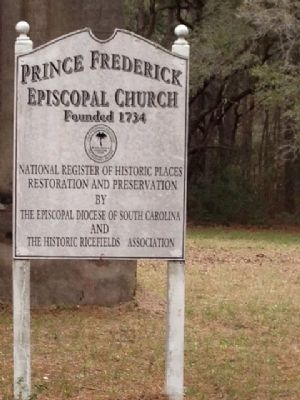 Prince Frederick's Chapel Marker image. Click for full size.