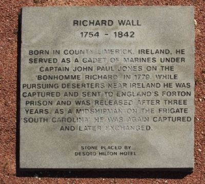Richard Wall Marker image. Click for full size.