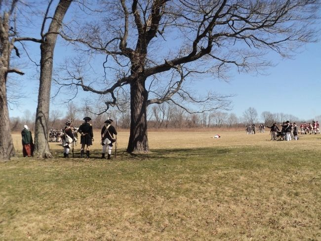 Battle of Princeton Reenactment image. Click for full size.