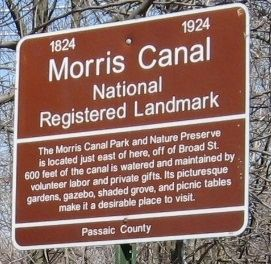 Yet Another Morris Canal Marker image. Click for full size.