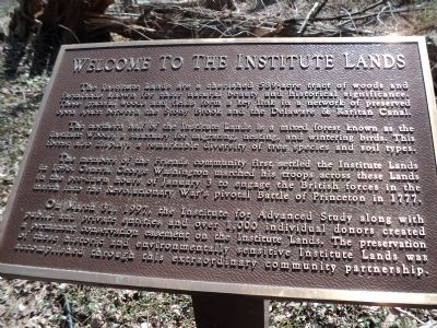 Welcome to the Institute Lands Marker image. Click for full size.
