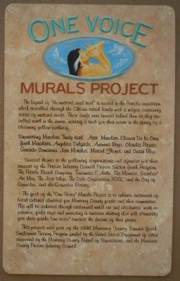 The Mustard Seed Trail Marker image. Click for full size.