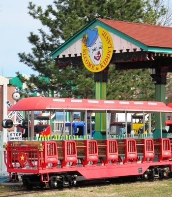 Playland Amusement Park - Historic Ride - The Kiddy Coaster image. Click for full size.