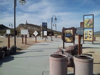 Valley Wells is a new upgraded rest area image. Click for full size.