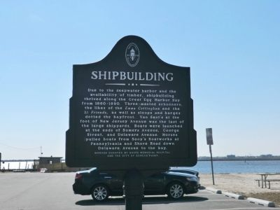 Shipbuilding Marker image. Click for full size.