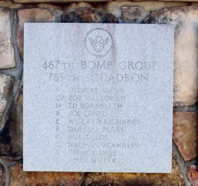 467th Bombardment Group 789th Squadron image. Click for full size.