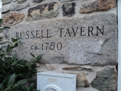 Second Russell's Tavern Marker image. Click for full size.