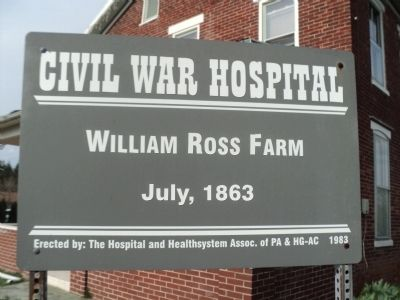 William Ross Farm Marker image. Click for full size.