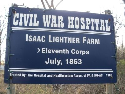 Isaac Lightner Farm Marker image. Click for full size.