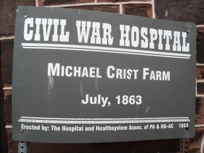 Michael Crist Farm Marker image. Click for full size.