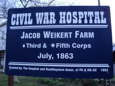 Jacob Weikert Farm Marker image. Click for full size.
