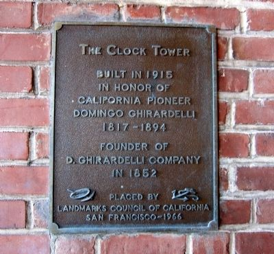The Clock Tower Marker image. Click for full size.