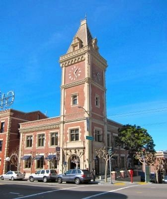 The Ghirardelli Clock Tower image. Click for full size.