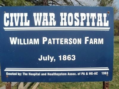William Patterson Farm Marker image. Click for full size.