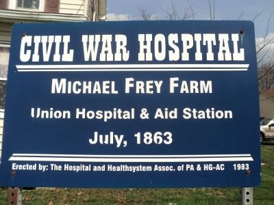 Michael Frey Farm Marker image. Click for full size.