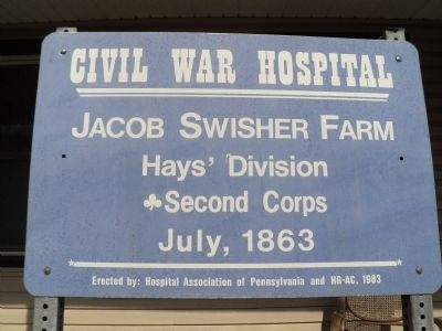 Jacob Swisher Farm Marker image. Click for full size.