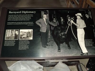 Barnyard Diplomacy Marker image. Click for full size.