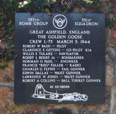 385th Bombardment Group 551st Squadron image. Click for full size.