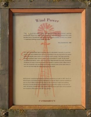 Wind Power Marker image. Click for full size.