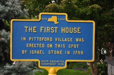 The First House Marker image. Click for full size.
