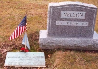 Sgt. William Lloyd Nelson Marker image. Click for full size.