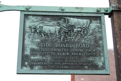 Guide Board Road Marker image. Click for full size.
