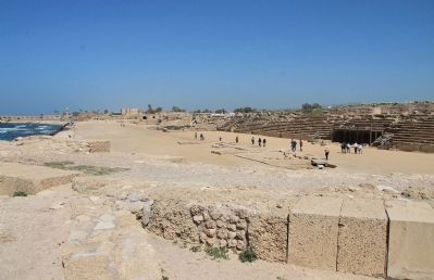 King Herod's Hippodrome image. Click for full size.