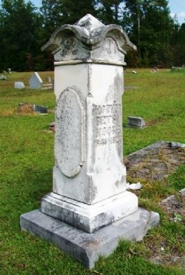 Rev. Jacob & Betsy Moore Grave Marker image. Click for full size.