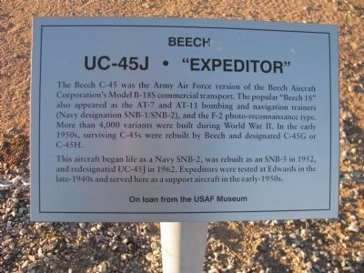 "UC-45J - ""Expeditor"" Marker image. Click for full size."