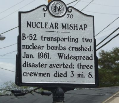 Nuclear Mishap Marker image. Click for full size.