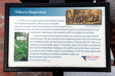 Tobacco Inspection Marker image. Click for full size.