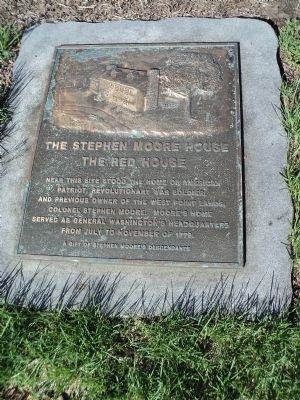 The Stephen Moore House Marker image. Click for full size.
