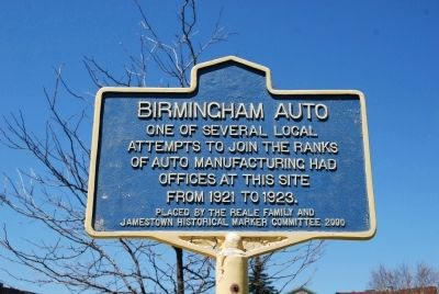 Birmingham Auto Marker image. Click for full size.