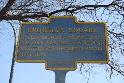 Brooklyn Square Marker image. Click for full size.