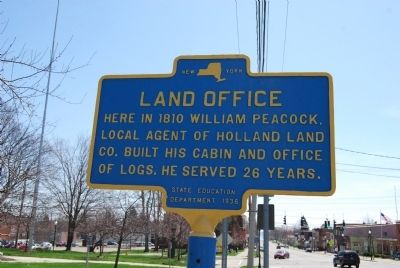 Land Office Marker image. Click for full size.