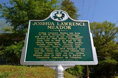Joshua Lawrence Meador Marker image. Click for full size.
