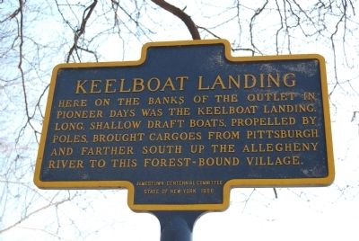 Keelboat Landing Marker image. Click for full size.