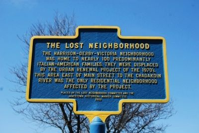 The Lost Neighborhood Marker image. Click for full size.