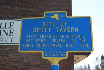 Site of Scott Tavern Marker image. Click for full size.