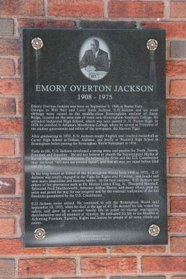 Emory Overton Jackson Marker image. Click for full size.