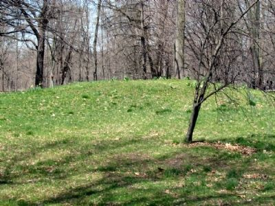 Mound near the Marker Photo, Click for full size